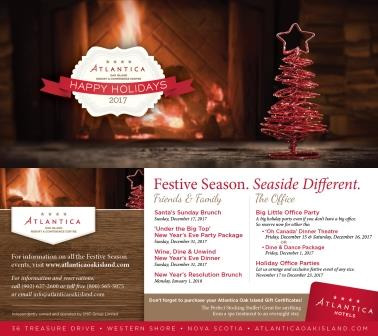 Santa's Brunch at the Atlantica Oak Island